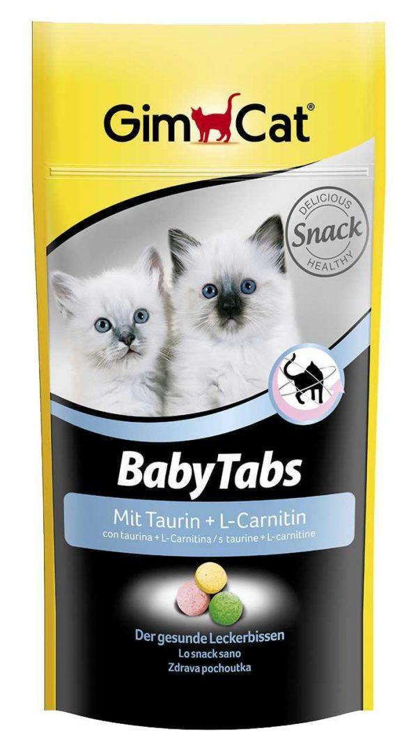 Sunne godbiter til kattunger GimCat BabyTabs