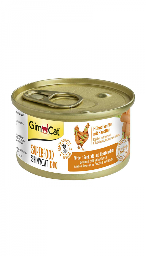 GimCat Superfood ShinyCat Duo med Taurin