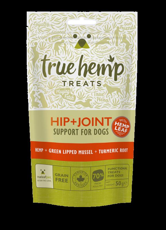 Godbiter True Hemp til hund hofter og ledd