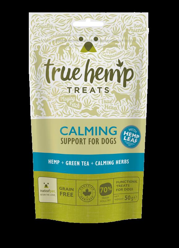 Godbiter til stressede hunder True Hemp