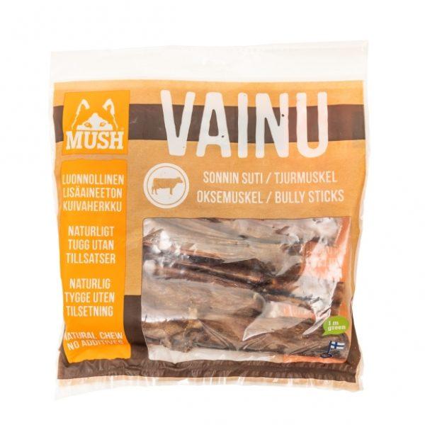 Hundesnacks MUSH VAINU Oksemuskel 250 g
