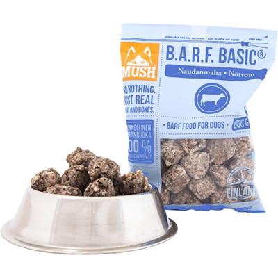 VOM Mush BARF Basic Hundefôr frosset oksekjøtt vom 800G